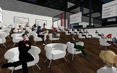 Vorlesungen im virtuellen Hörsaal